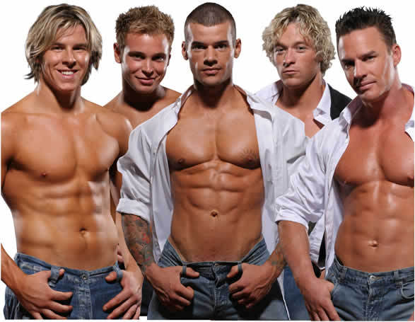 Men of playgirl male dance revue